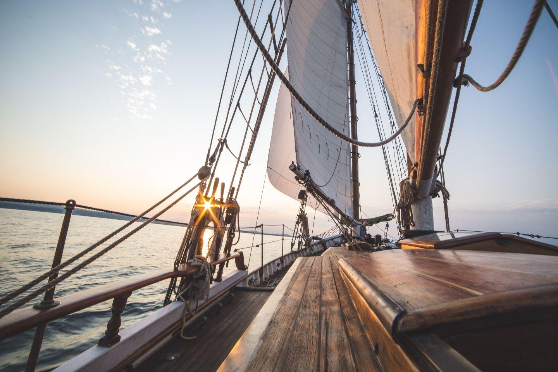 Aboard a Boat
